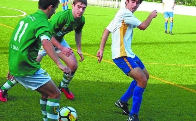 Los juveniles dominan en Trintxerpe pero encajan cinco goles