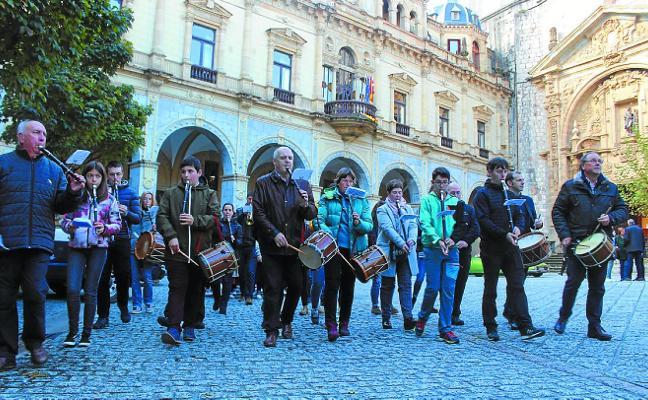 La Musika Eskola se suma a las actividades con motivo de Santa Cecilia