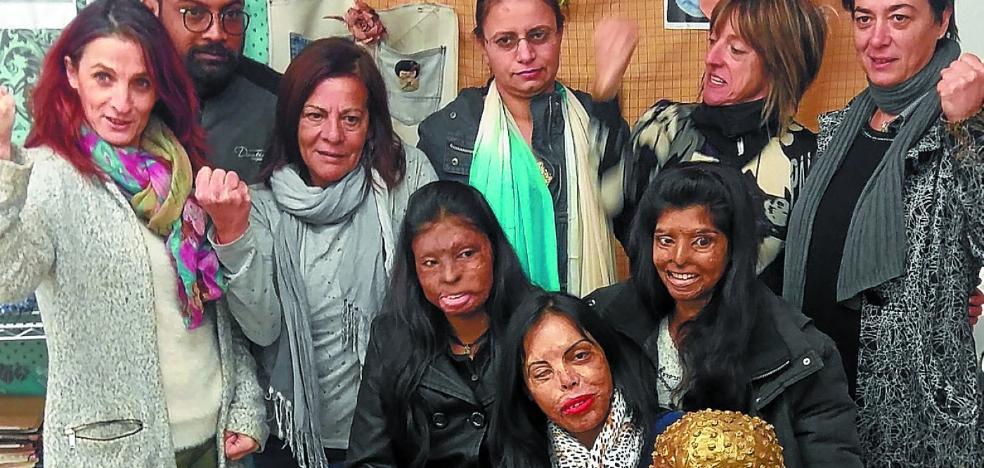Las supervivientes de ataques con ácido relatan hoy su caso en Antxo