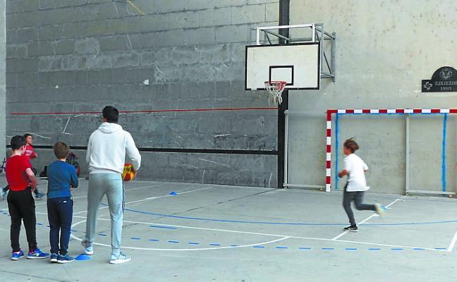 Pelota y más modalidades deportivas en el Ezkierdi