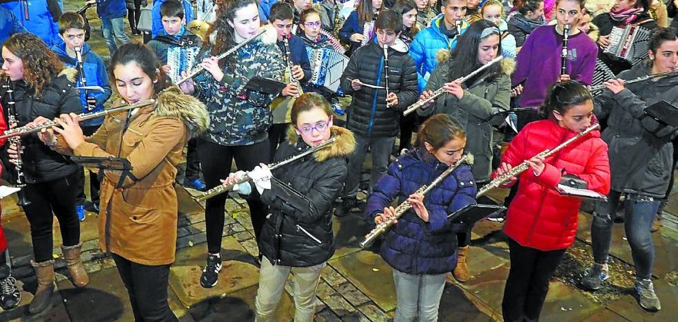 Los músicos del futuro también festejan el día de Santa Cecilia