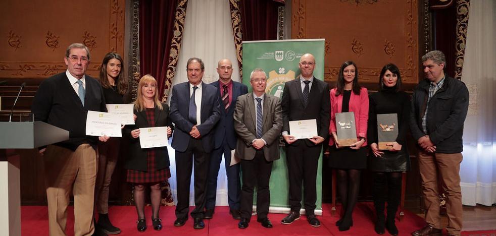 Diputación de Gipuzkoa y el Banco de Alimentos aplauden a sus colaboradores