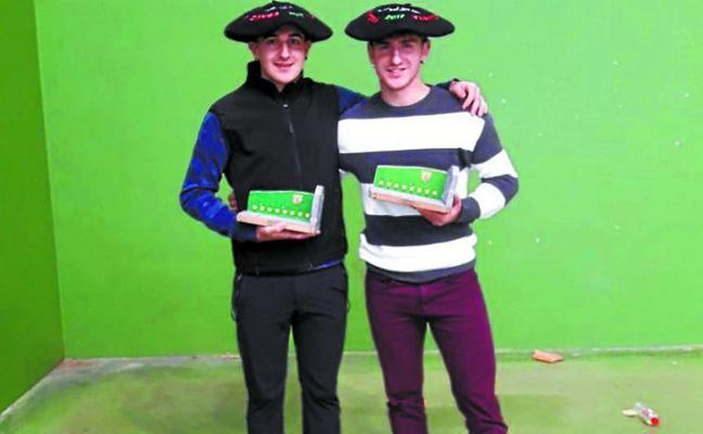 Loitegi y Esnaola estarán en los octavos de final del Torneo Iparralde