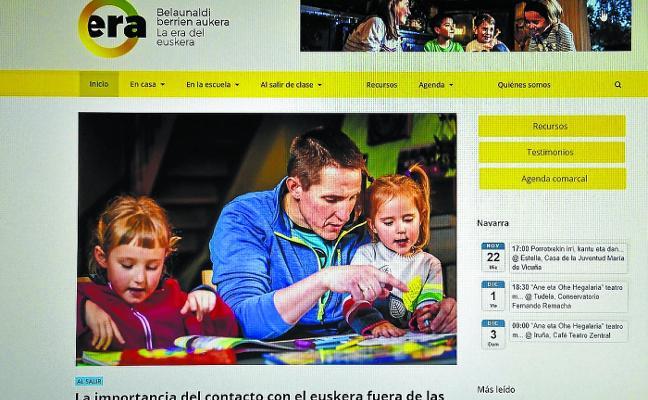 Era.eus, para acompañar a los hijos en el aprendizaje en euskera