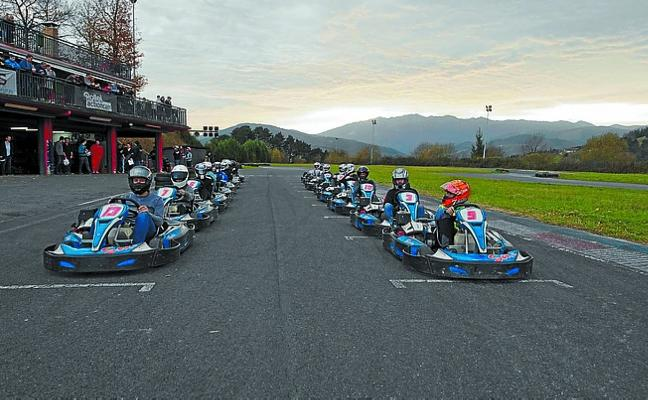 Jon Urbieta venció el Karting Challenge