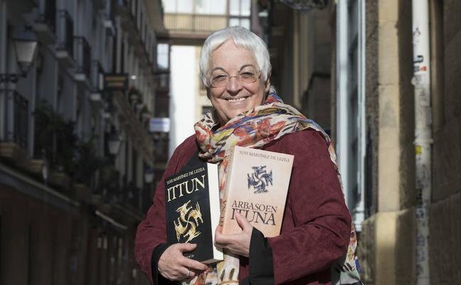 Toti Martínez de Lezea publica 'Ittun', prolongación de la novela 'Enda' y ambientada en el siglo VI