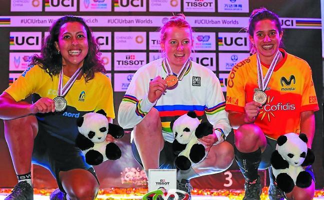 Bronce para Irene Caminos en el Campeonato del Mundo en China