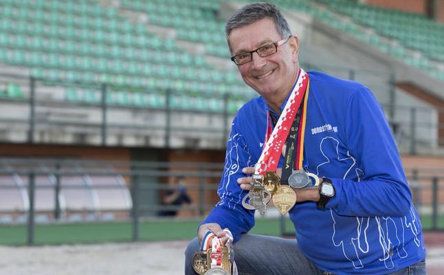 Jesús Eguimendia sumará 71 maratones a sus 63 años