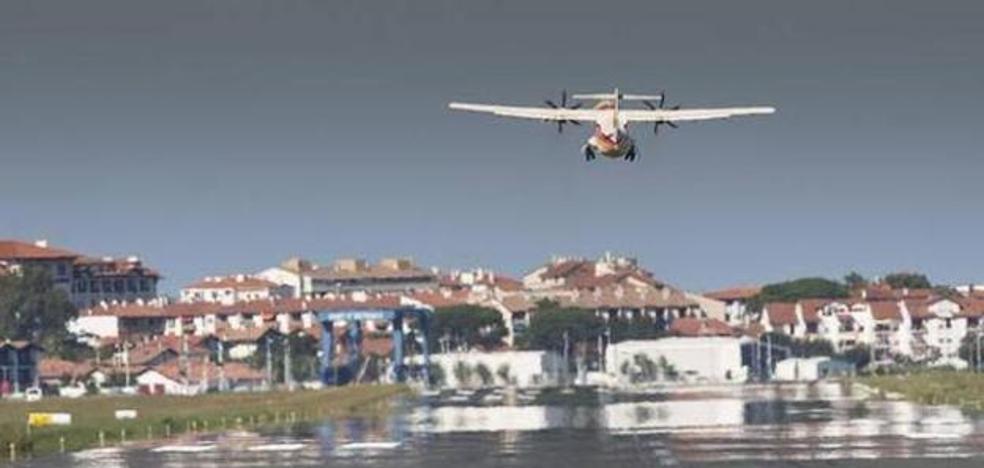 El tráfico de viajeros en el aeropuerto de Hondarribia crece un 6,76 % en los diez primeros meses del año