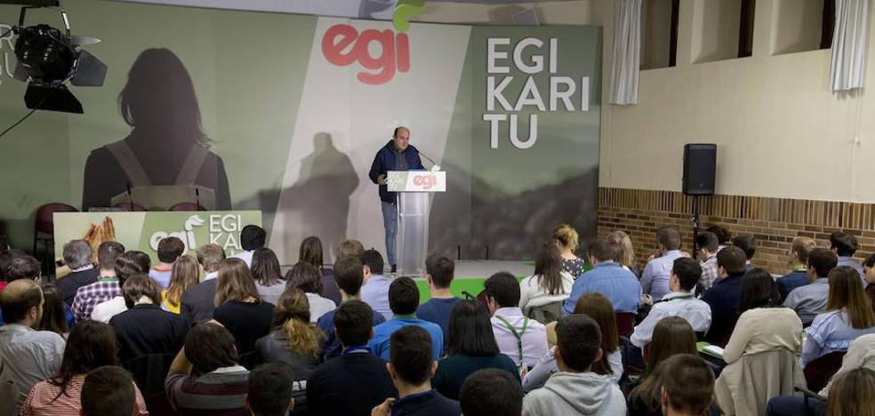 Ortuzar destaca que el PNV es el mejor instrumento para emancipar a Euskadi como nación en Europa