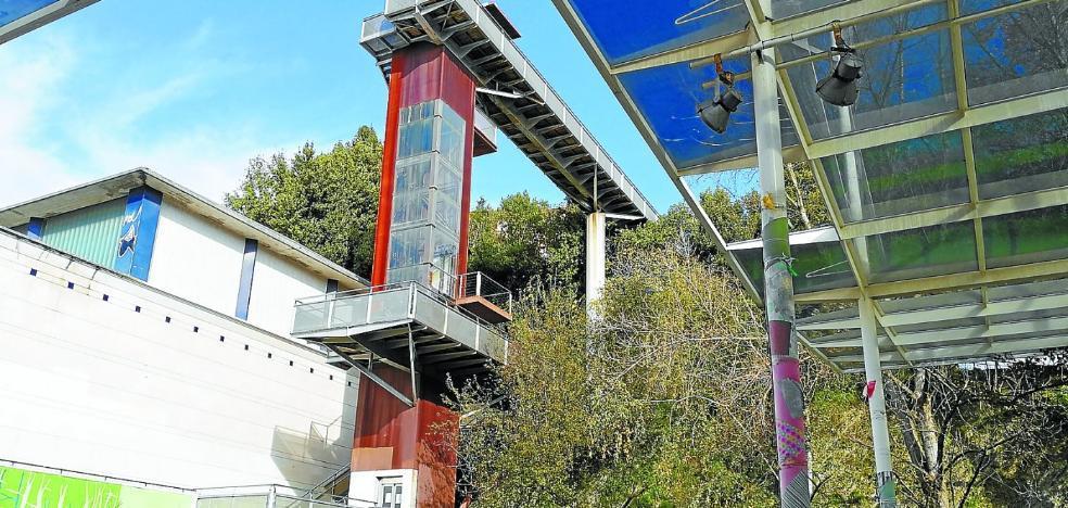 Dos meses para arreglar el ascensor de Egia