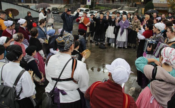 La Euskal Jaia de Lasarte-Oria desafía a la lluvia