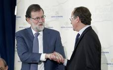 Rajoy defiende el Concierto porque «supone» cumplir la Constitución y llama a Ciudadanos a huir de la «demagogia»