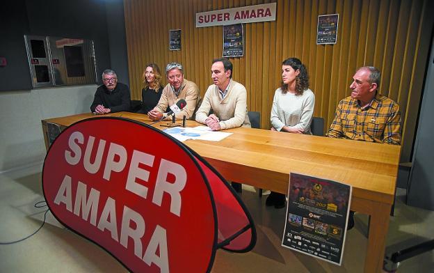 Javier Mariño, a la derecha del todo, será el padrino de la prueba. /  F. DE LA HERA