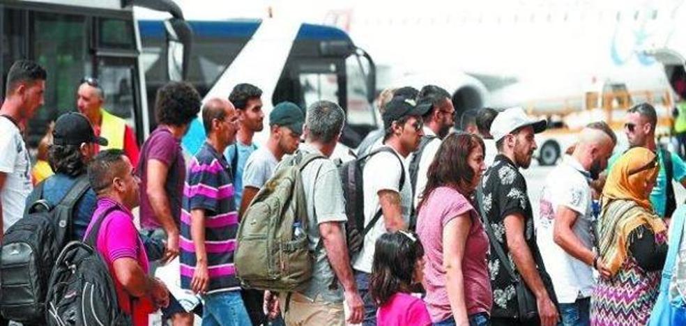 Gipuzkoa acogerá a cuatro refugiados sirios llegados este jueves a Madrid procedentes de Líbano