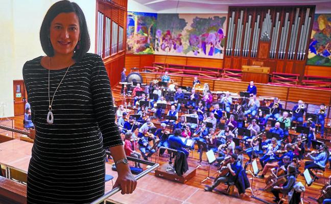 Miren Urbieta-Vega: «Cantar en casa es más exigente, hay que demostrar que estás a la altura»