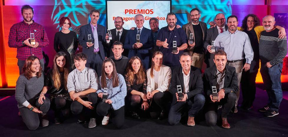 El reconocimiento de Teledonosti a sus protagonistas del año