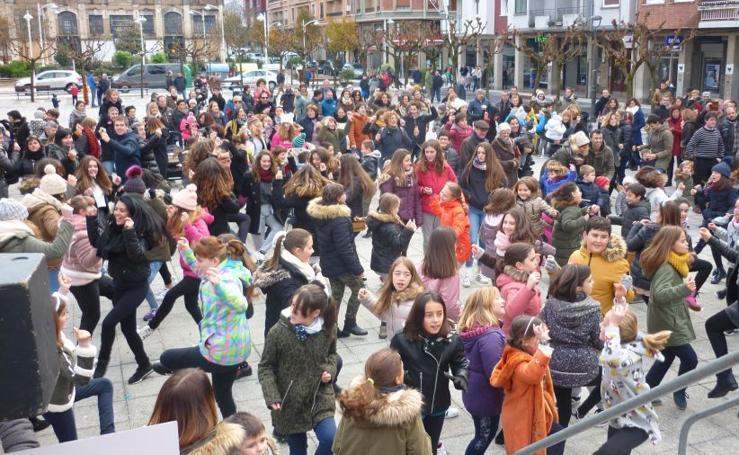 Flashmob en Pasaia