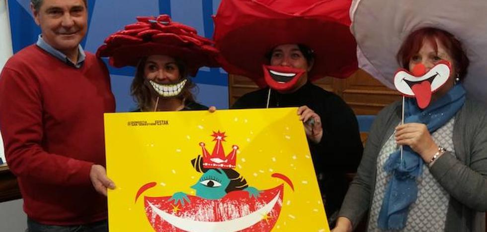 La 'Risa', protagonista del Carnaval donostiarra