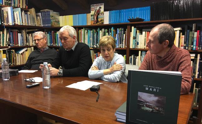 Un libro recupera la figura del arrantzale Mari en el 150 aniversario de su muerte