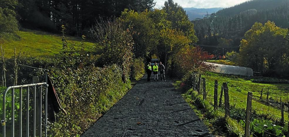 El tramo de bidegorri entre Kuatruena y Aingeru Guarda se abrirá en Navidad