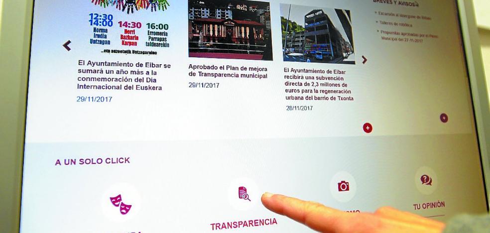 Pasos adelante por la transparencia