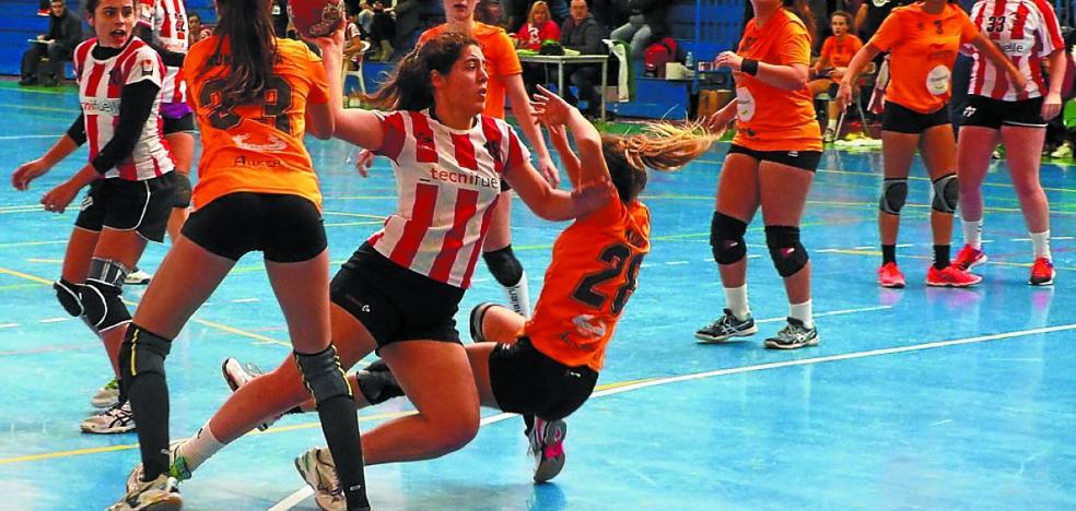 La Copa de Euskadi de balonmano sénior femenino se decide en Elgoibar