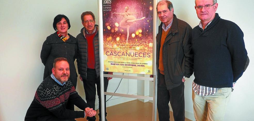 El Zelai acoge la emisión en directo desde Londres del ballet 'El Cascanueces'