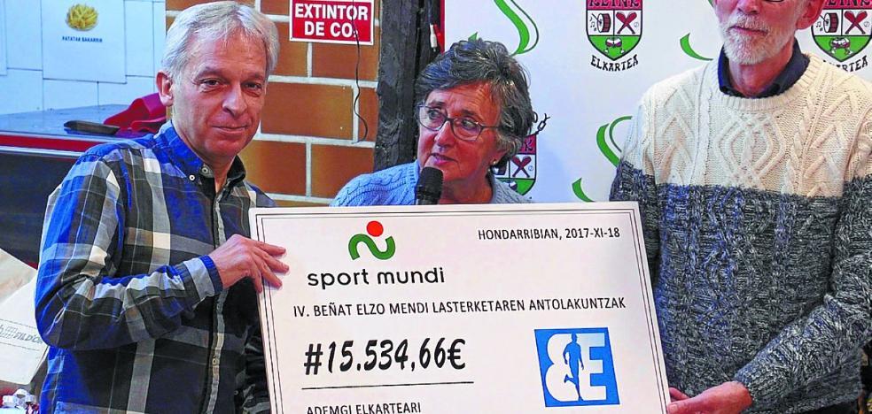 'IV Beñat Elzo Mendi Lasterketa' logró 15.534 euros para Ademgi