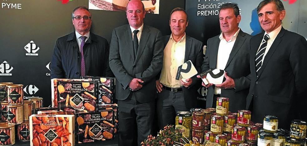 Carrefour distingue a Casa Eceiza como la mejor pyme del País Vasco