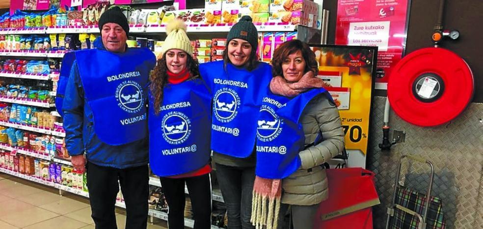 10.000 kilos de alimentos en la V Gran Recogida