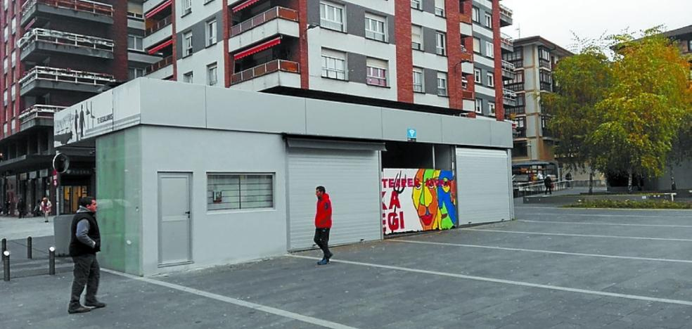 El kiosco Balanzategi regresa hoy a Biteri tras catorce años