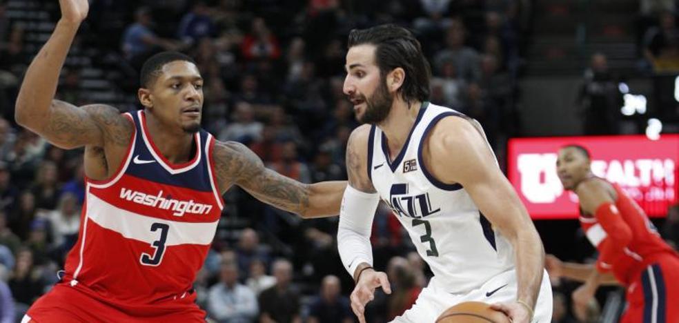 Los Jazz de Rubio son frenados por los Westbrook y los Thunder