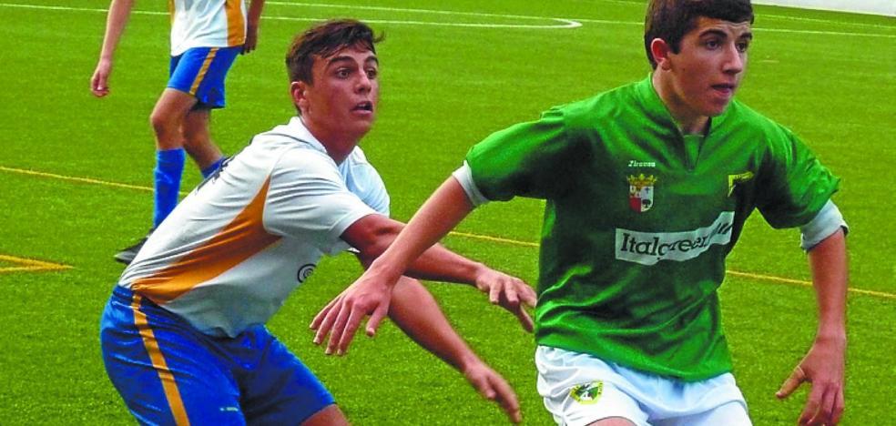 El Beti Gazte juvenil recibe el gol de la derrota a falta de tres minutos para el final