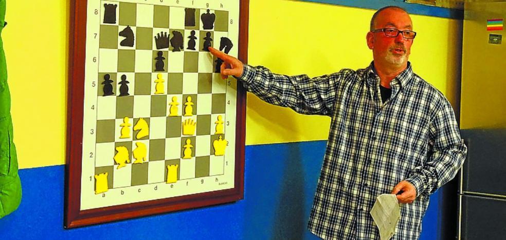 Beraun Bera organiza su primer torneo solidario de ajedrez
