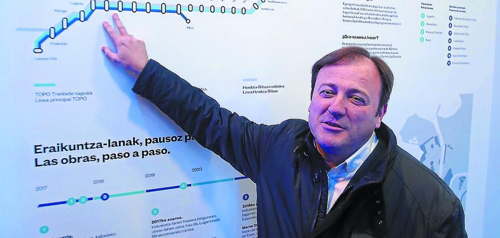 Antonio López: «Habrá molestias por la obra del Topo, pero ni voladuras ni vibraciones»