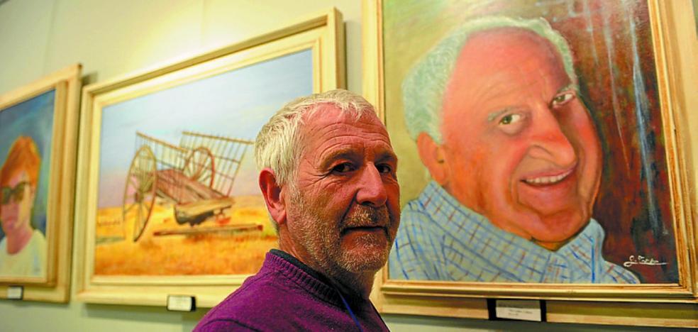 Ángel de la Torre expone retratos y paisajes urbanos en el Centro Untzaga