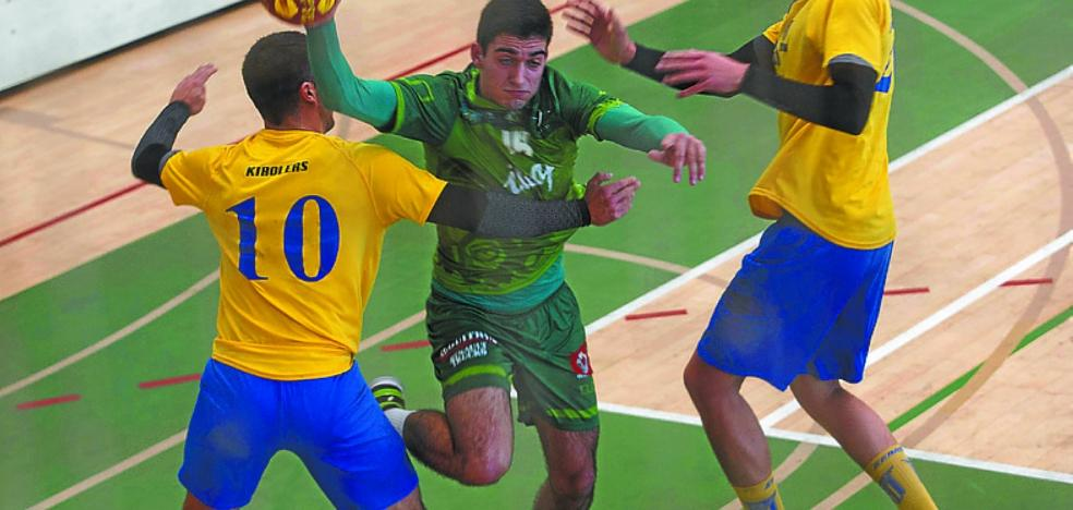 Ilcapo Hondarribia desarboló al filial del Bidasoa-Irun en el segundo tiempo