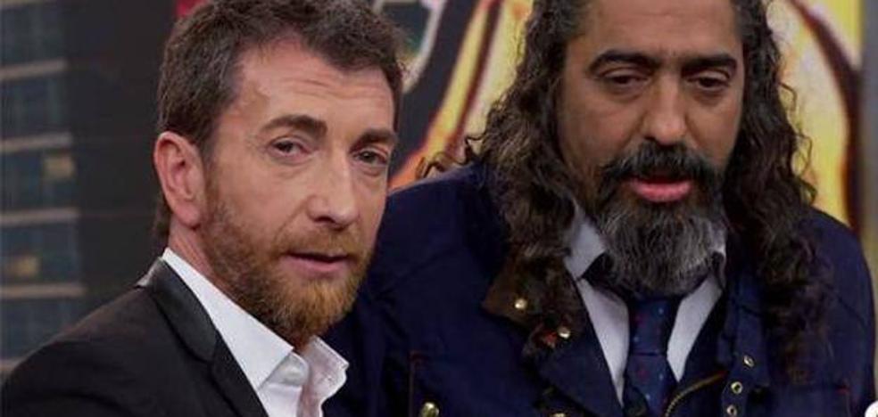 Diego el Cigala la vuelve a liar en 'El Hormiguero'