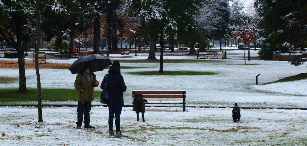Aviso amarillo mañana y el sábado por nieve en el interior