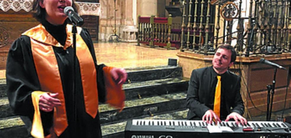 Espléndido broche al ciclo 'Azaroan Musika' al son del dúo The Lord