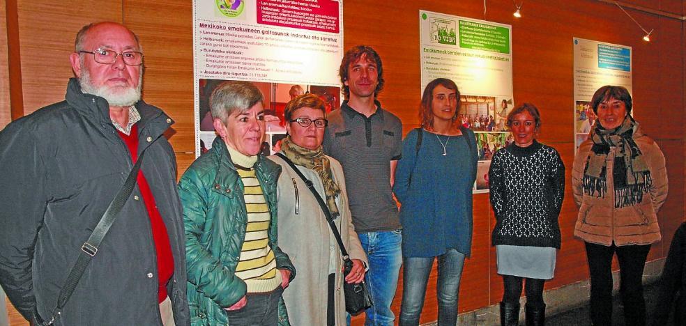 Azpeitia destina 90.000 euros al año a proyectos solidarios en todo el mundo