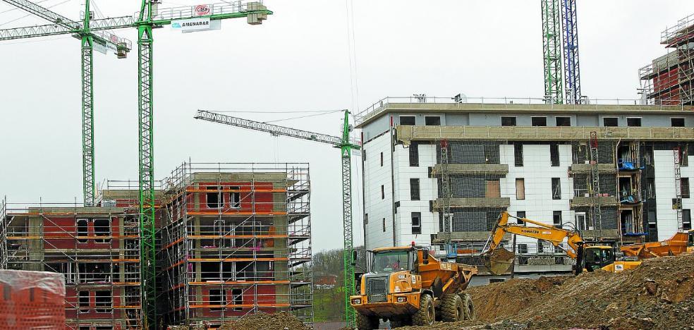 El precio de la vivienda aumenta un 5,8% en Euskadi, el mayor repunte desde 2007