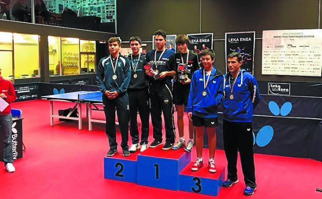 Marpex Beraun ganó el Campeonato de Gipuzkoa en individual y en dobles