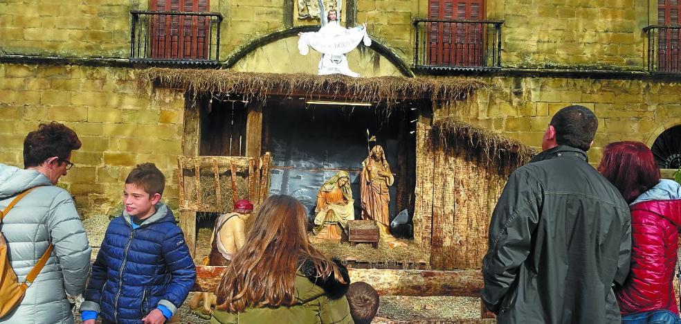 Abierto el Belén del Palacio de Narros