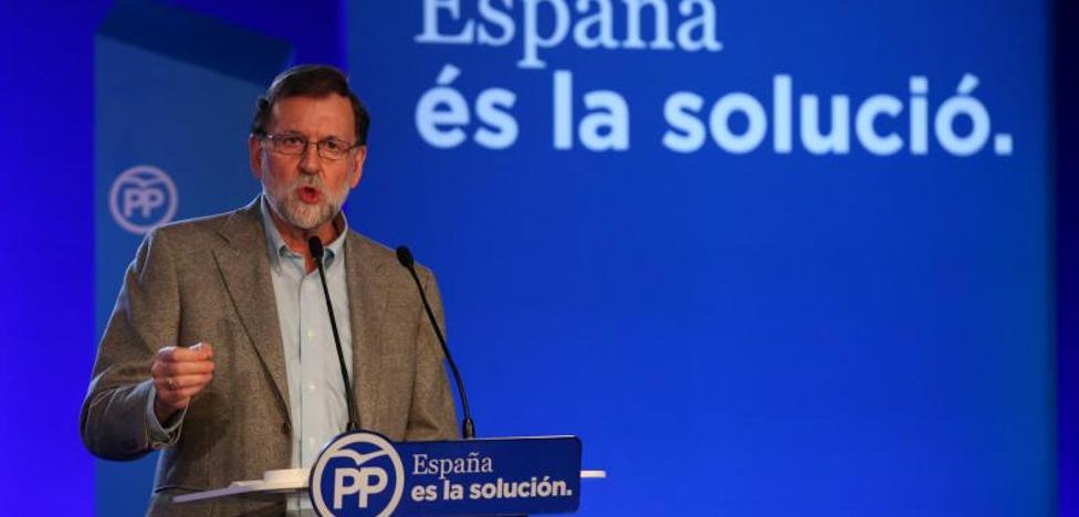 Rajoy pide votar al PP para «recuperar la convivencia» en Cataluña