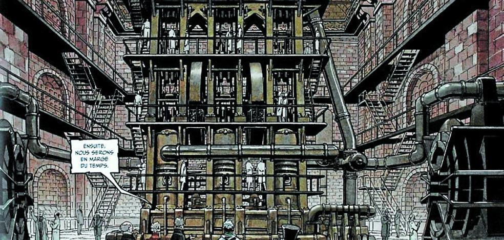 Sherlock Holmes y la máquina del tiempo