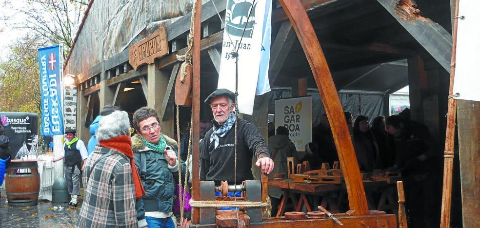 La nao 'San Juan' visita Donostia