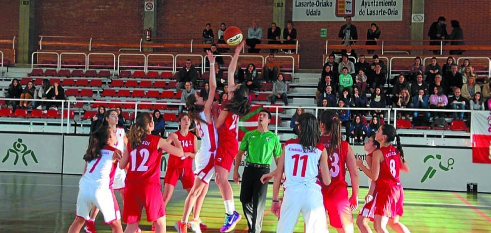 Galicia - Euskadi abre hoy el cuadrangular cadete femenino de baloncesto