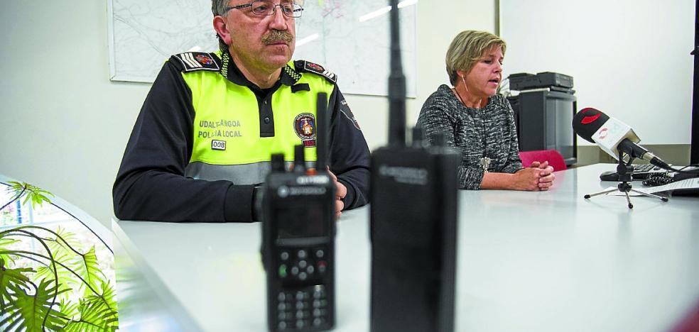 La Policía Local incorpora el sistema de radio digital de la Ertzaintza